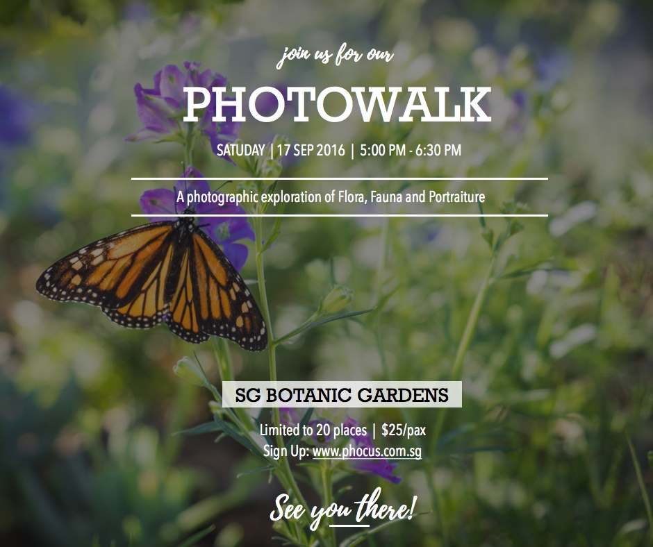 SG Botanic Gdn Photowalk Sep 2016