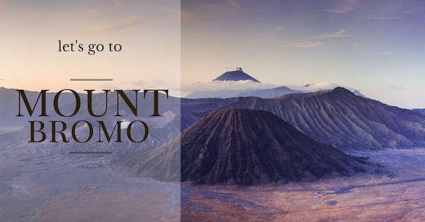 Travel photography workshop to Mount Bromo