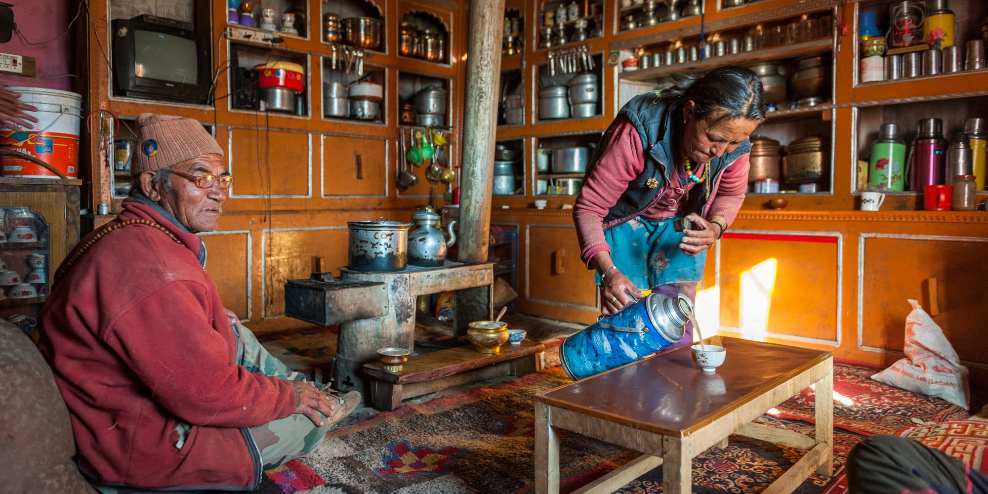 The cold winter will be forgotten with the warm Ladakhi hospitality.